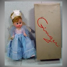 MIB Cosmopolitan Ginger Doll as The Blue Fairy, 1956