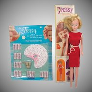 American Character MIB Tressy Doll with MOC Accessory Set, 1965!