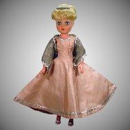"Horseman Blond Hair 19"" Cindy Doll, 1959"