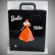 Rare VIntage Mattel French Barbie/ Midge Case, 1960's!