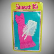 MOC Mattel Barbie Sweet 16 Outfit # 9557, 1976
