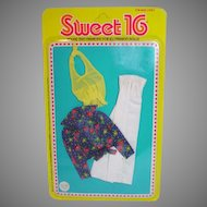 Mattel NRFC Barbie Sweet 16 Outfit #9559, 1976