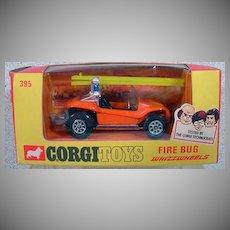NRFB Corgi Toys 395 Fire Bug Car, 1972