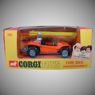 NRFB Corgi Toys 395 Fire Bug Car, 1972