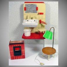Vintage, Hard to Find,German Doll Furniture, Bild Lilli Scale