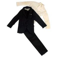"Original James Bond Suit for Gilbert 12"" Action Figure, 1960's"