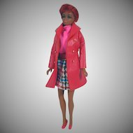 Mattel TNT Julia Doll in Leather Weather Outfit, 1969