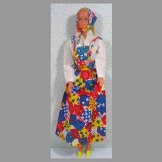 Mattel Malibu Barbie Doll from Germany, 1978