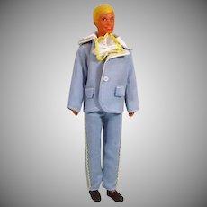1970's Male Fashion Doll Clone in Mod Tuxedo!