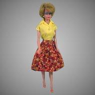 Barbie Bubble Cut #6 w/ Original Cheek Blush, Mattel,1963