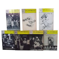 Collection of Original 1960's Broadway Playbills