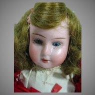 """Antique Bisque Head Recknagel 8"""" Nurse Doll!"""