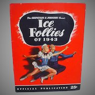 Ice Follies of 1943 Souvenir Program