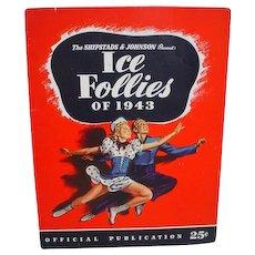 Ice Follies of 1943 Souvenir Program