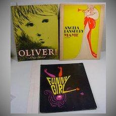 Souvenir 1960's Broadway Show Booklets