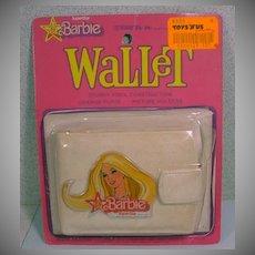 Vintage SuperStar Barbie Vinly Wallet MOC, 1978