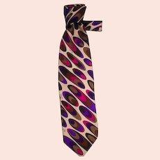Men's Vintage Emilio Pucci Silk Tie, 1960's