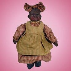 Black Americana Folk Art Arnett Country Store Doll, Sophie