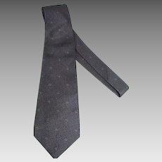 Vintage Men's Silk Gucci Neck Tie, 1970's