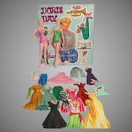 Whitman Doris Day Paper Dolls, 1956, Cut