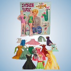Whitman Doris Day Paper Dolls, 1956, Cut