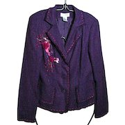 VINTAGE, Allison Taylor Three Button Jacket