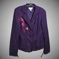 VINTAGE, Allison Taylor Three Button Jacket