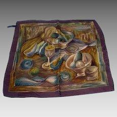 Ermenegildo Zegna Men's Silk Pocket Square, 1990's