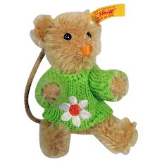 Charming Small Steiff Teddy Bear, 1990's, Germany