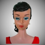 1964 Vintage Brunette Barbie Swirl Ponytail