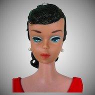 1964 Vintage Brunette Barbie Swirl Ponytail