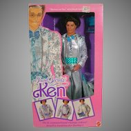 NRFB Jewel Secrets Ken, Mattel, 1987