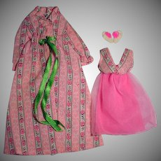 Vintage Mattel Barbie Outfit, Sleepy Set, 1972