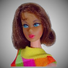 Mattel Vintage 1969 TNT Barbie w/Brownette Hair