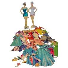 Vintage Ann Southern Paper Dolls, 1950's