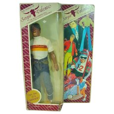 "1982 Sergio Valente 12"" Male Fashion Doll, NRFB"