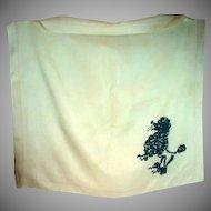 Vintage Ladies Balenciaga Silk Scarf