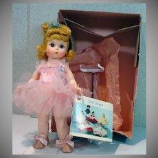 "MIB Madame Alexander 8"" Ballerina, 1990's"