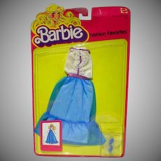 Mattel Barbie MOC Fashion Favorites Outfit, 1981