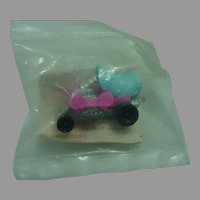 """Mattel 1972 Zowees """"Hot Wheel"""" Car, Shell Promotional Piece Sealed in Plastic!"""