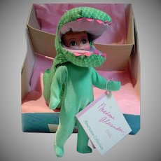"Manadme Alexander MIB ""Dinosaur"" Alexander-kin Doll, 1993"