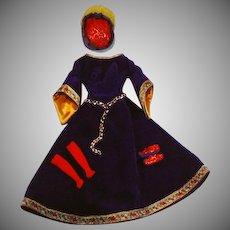Vintage Mattel Barbie Outfit, Guinevere, 1964