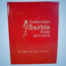 Collectible Barbie Dolls, 1977-1979, Book by Sibyl DeWein