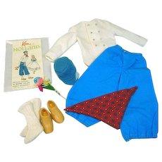 Vintage Mattel Ken Outfit, Ken in Holland, 1964