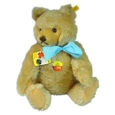 """Vintage Steiff Mohair 15"""" Teddy Bear, 1980's"""