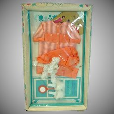 NRFB Remco Judy Littlechap Outfit, Pajamas, 1960's