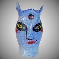 "Kosta Boda,  ""Open Minds"" Collection Vase by Ulrica Hydman Vallien Circa 1980's"