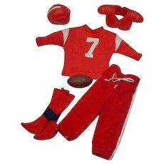 Vintage Mattel Ken Outfit, Touchdown, 1963