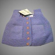 Petit Faune Doll/Child's Cotton Sweater