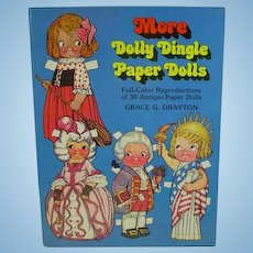 More Dolly Dingle Paper Dolls/Grace Drayton, 1979, Reproduction Set